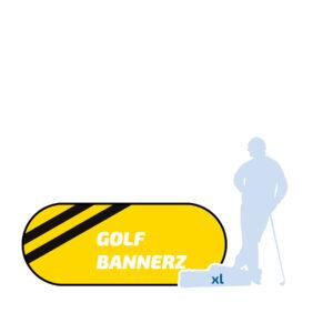 Banner Ovaal XL 250x100