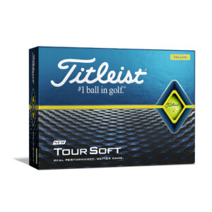 Titleist Tour Soft Yellow Golfballen Bedrukken