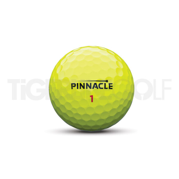 Pinnacle Rush Yellow Golfballen Bedrukken