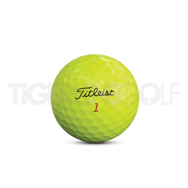 Titleist Pro V1x Yellow Golfballen Bedrukken