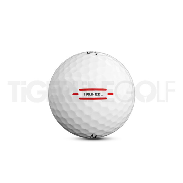 Titleist TruFeel white Golfballen Bedrukken