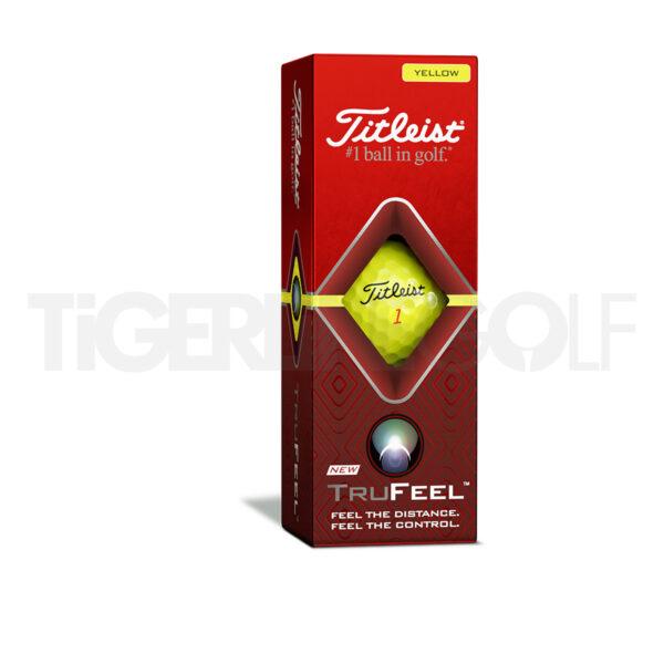 Titleist TruFeel Yellow Golfballen Bedrukken