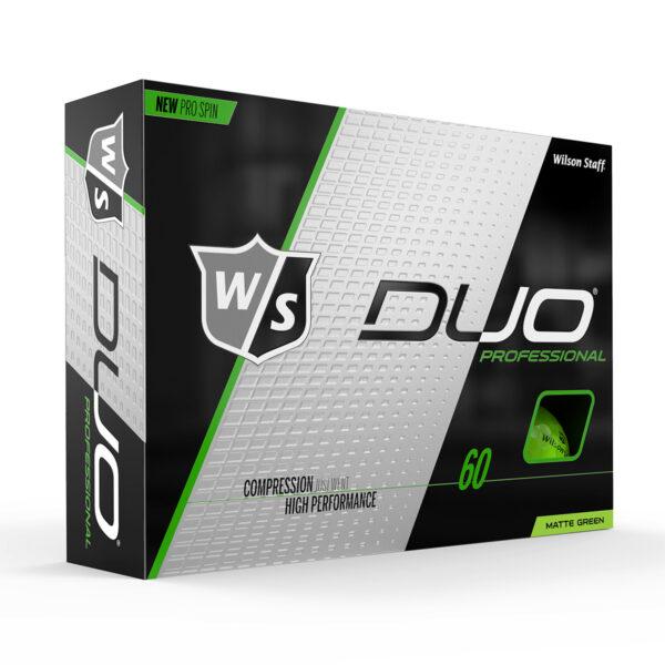 Wilson DUO Professional green Golfballen Bedrukken