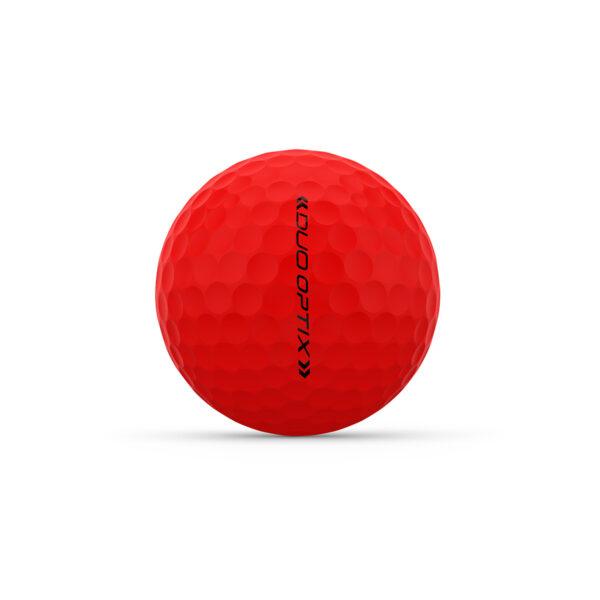 Wilson Duo Optix Red Golfballen Bedrukken