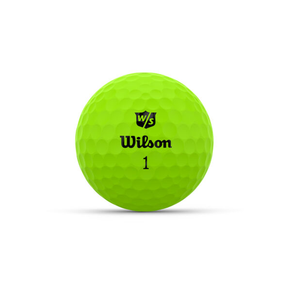 Wilson Duo Optix Green Golfballen Bedrukken