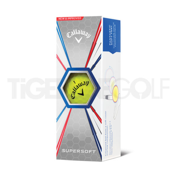 Callaway Super Soft Yellow Golfballen Bedrukken