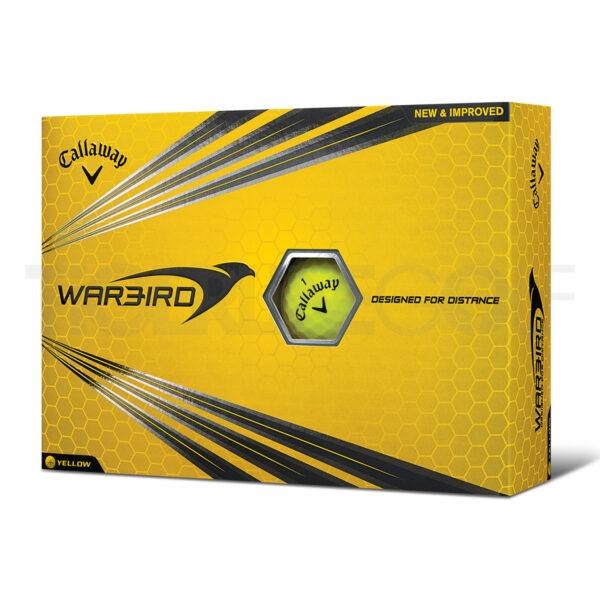 Callaway Warbird Yellow Golfballen Bedrukken