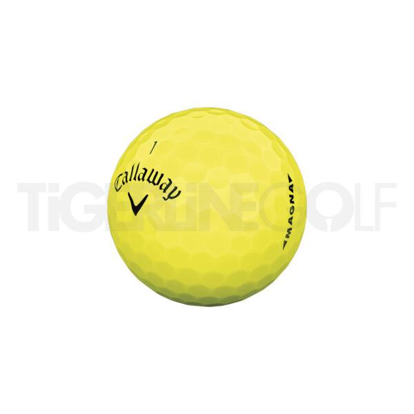 Callaway Supersoft Magna yellow Golfballen Bedrukken
