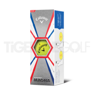Callaway Supersoft Magna yellow Golfballen Bedrukken