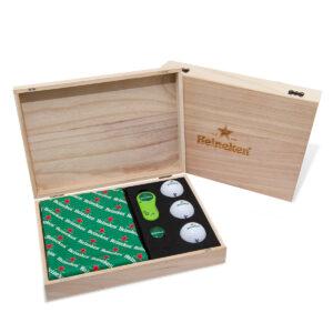 Luxe Golf Geschenkdoos van hout 01