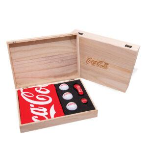 Luxe Golf Geschenkdoos van hout 02
