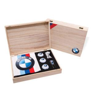 Luxe Golf Geschenkdoos van hout 07