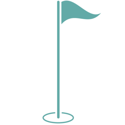 TigerLine Golf - vlag